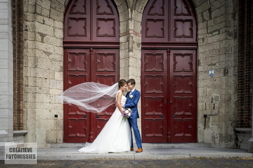 bruidspaar grote kerk