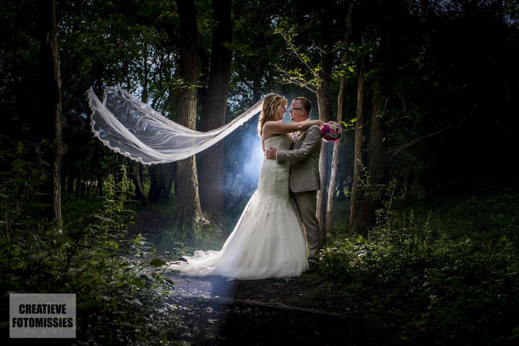 fotorook bruidspaar