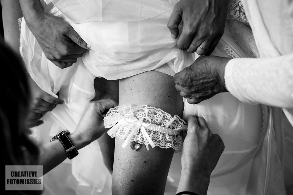 kouseband bruid