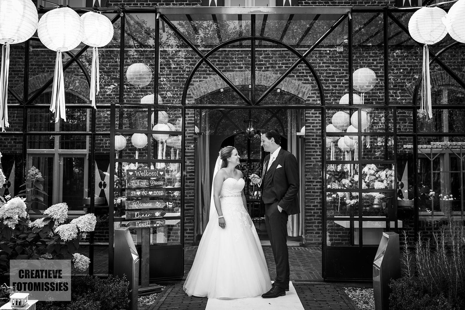 bruidsfotografie klooster Bethlehem