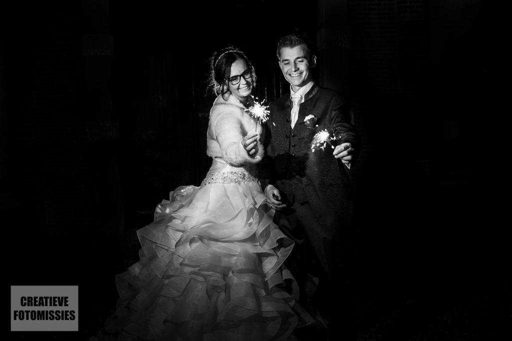 bruidspaar sterretjes
